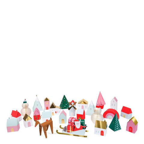 Advent Calendar Village-Palm & Pine Party Co.