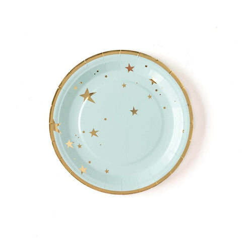 Blue Star Plates-Palm & Pine Party Co.
