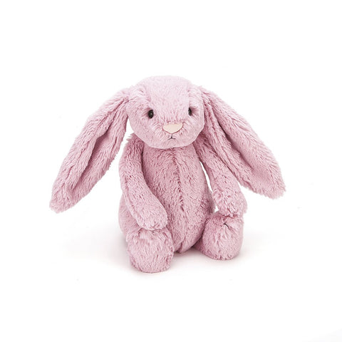 Jellycat Bashful Bunny Medium (Tulip Pink)-Palm & Pine Party Co.