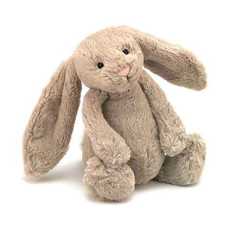 Jellycat Bashful Bunny Small (Beige)-Palm & Pine Party Co.