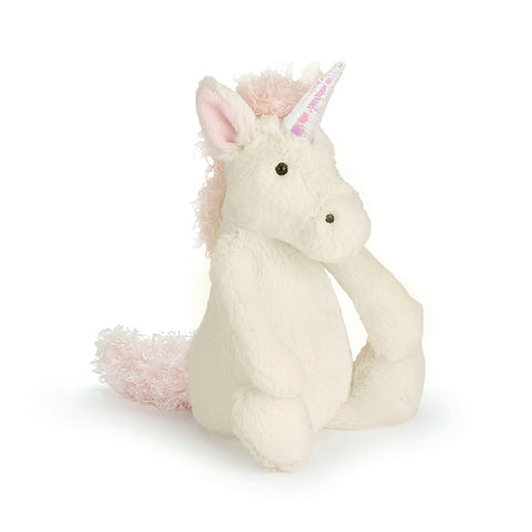 Jellycat Bashful Unicorn Small-Palm & Pine