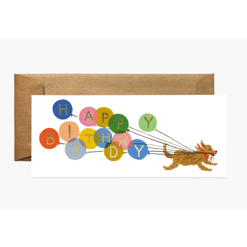 Birthday Balloon Card-Palm & Pine Party Co.