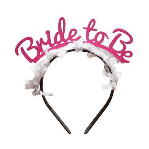 Bride to Be Headband (Two Colour Options)-Palm & Pine Party Co.