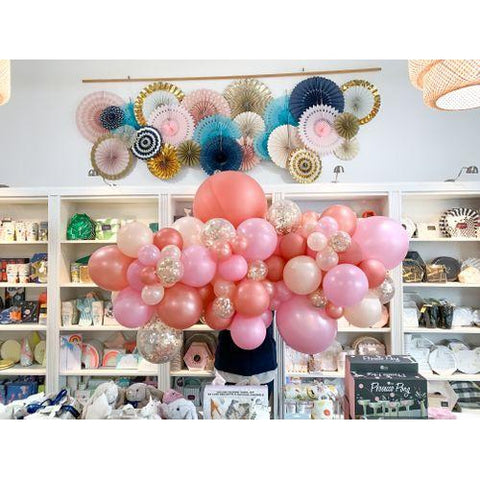 Bubblegum Balloon Garland-Palm & Pine