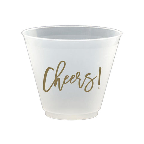 Cheers Frost Flex Wine Glasses