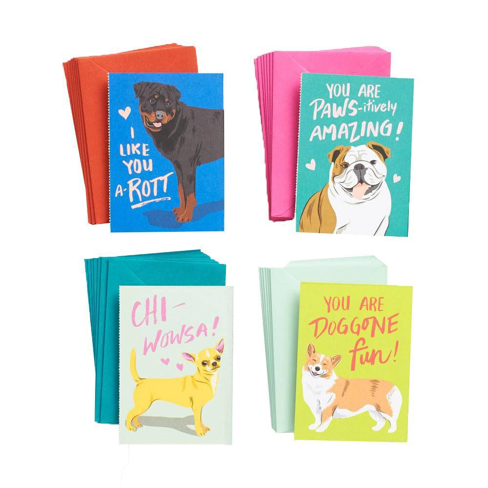 Dog Valentine Set-Palm & Pine Party Co.