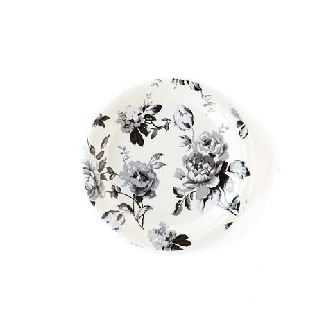 Gingham Floral Plates-Palm & Pine Party Co.