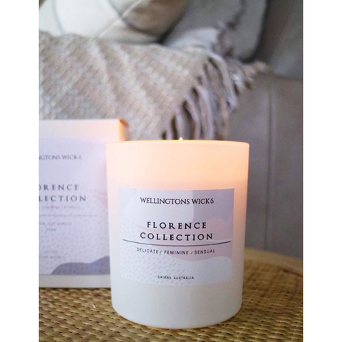 Florence Collection Large Candle-Palm & Pine Party Co.