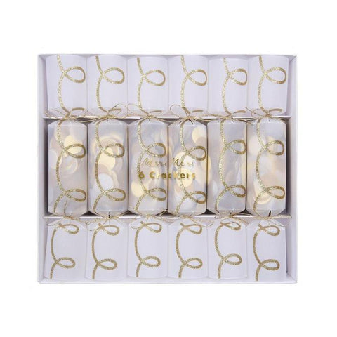 Gold Twist Confetti Crackers-Palm & Pine