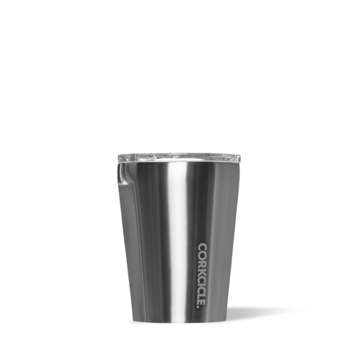 Corkcicle Tumbler 12oz (Gunmetal)-Palm & Pine