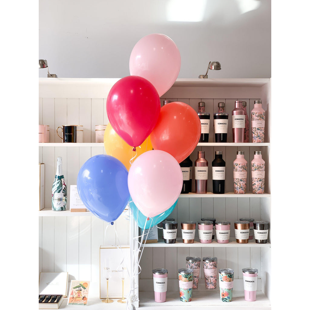 Bouquet of 7 Balloons, Inflated-Palm & Pine Party Co.