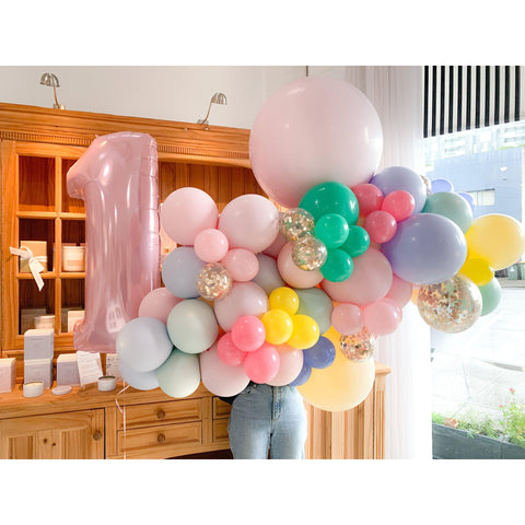 Mod About You Balloon Garland-Palm & Pine