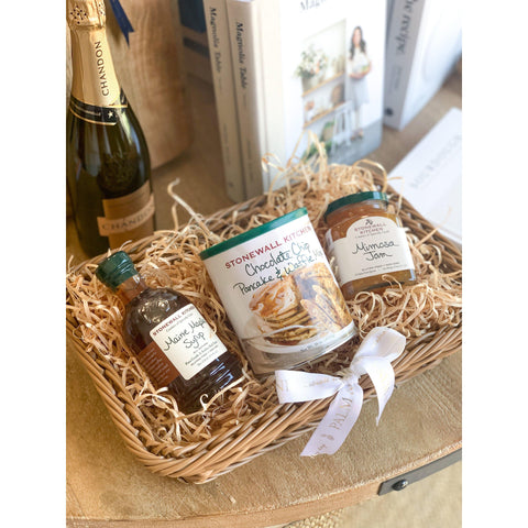 Breakfast in Bed Gift Basket-Palm & Pine