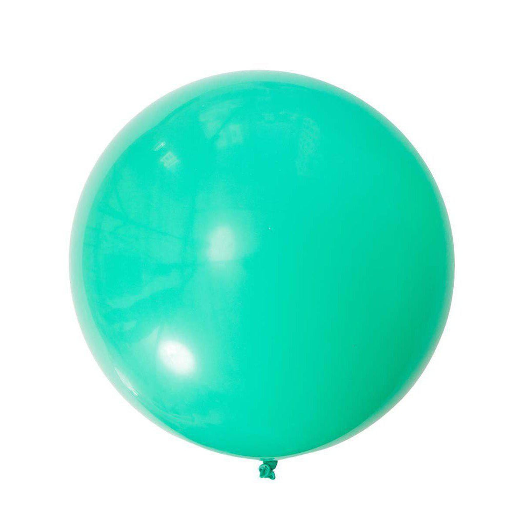 Jumbo Round Mint Green Balloon, Inflated-Palm & Pine Party Co.