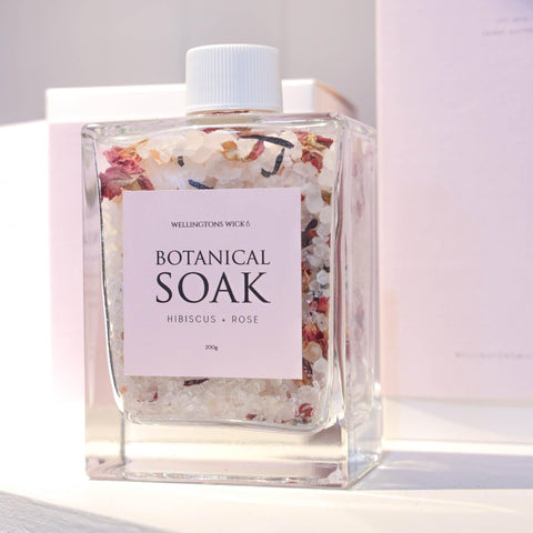 Botanical Soak - Rose & Hibiscus-Palm & Pine Party Co.