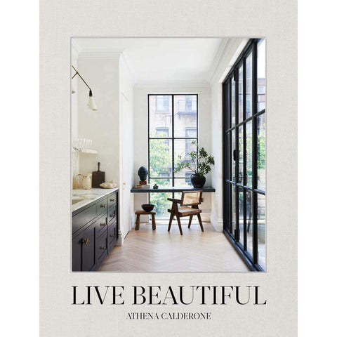Live Beautiful-Palm & Pine
