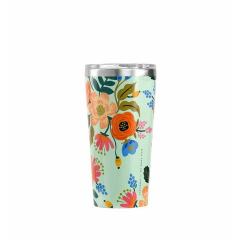 Corkcicle Tumbler 16oz (Lively Floral)-Palm & Pine Party Co.