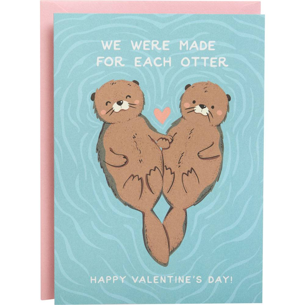 Made for Each Otter Card-Palm & Pine Party Co.
