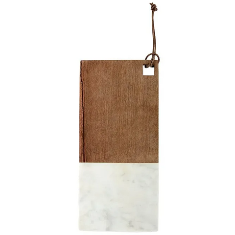 Marble & Wood Serving Board-Palm & Pine
