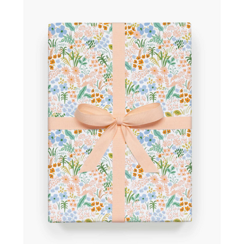 Meadow Gift Wrap-Palm & Pine