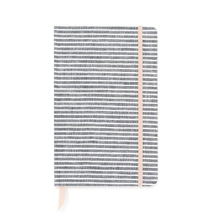 Essential Journal Faded Stripe-Palm & Pine Party Co.