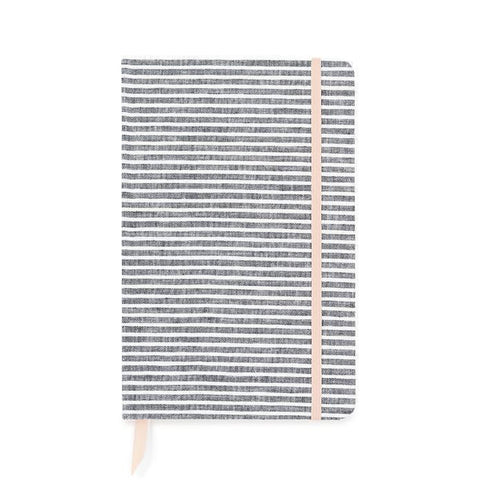 Essential Journal Faded Stripe-Palm & Pine