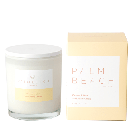 Coconut & Lime Candle-Palm & Pine Party Co.