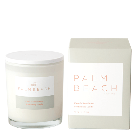 Clove & Sandlewood Candle-Palm & Pine