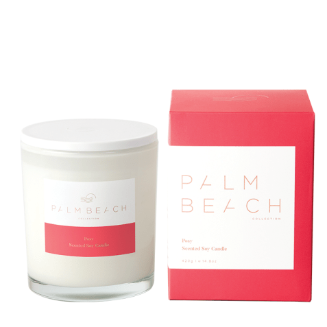 Posy Candle-Palm & Pine