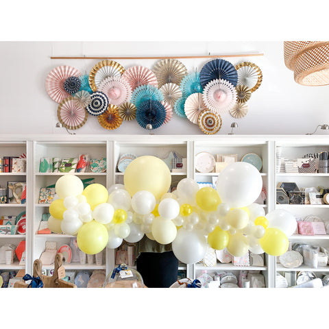 Lemonade Balloon Garland-Palm & Pine