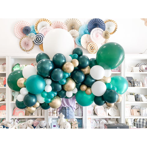 Verde Nice Balloon Garland-Palm & Pine