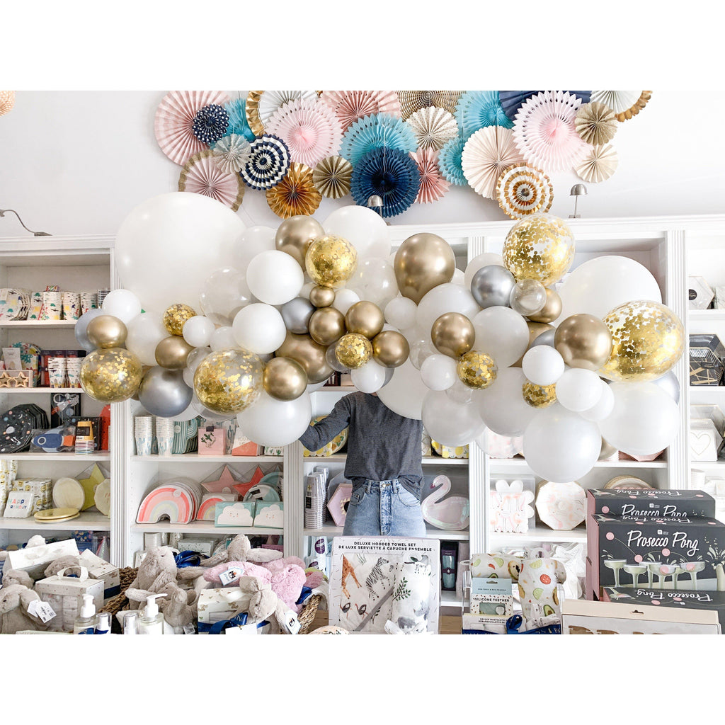Bling it On Balloon Garland-Palm & Pine