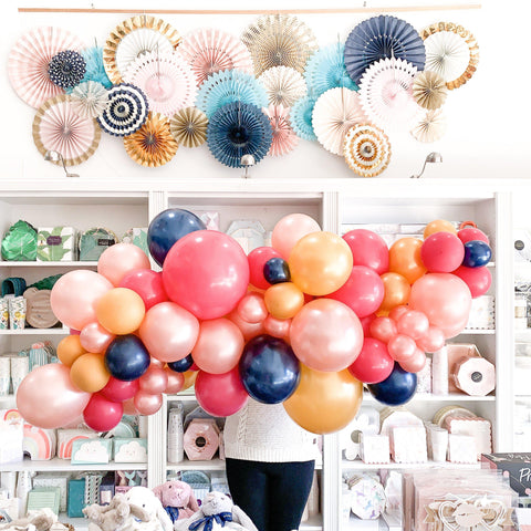 Birthday Vibes Balloon Garland-Palm & Pine