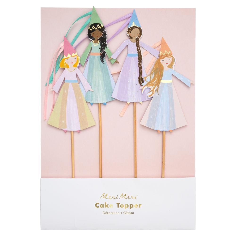 Magical Princess Cake Toppers-Palm & Pine