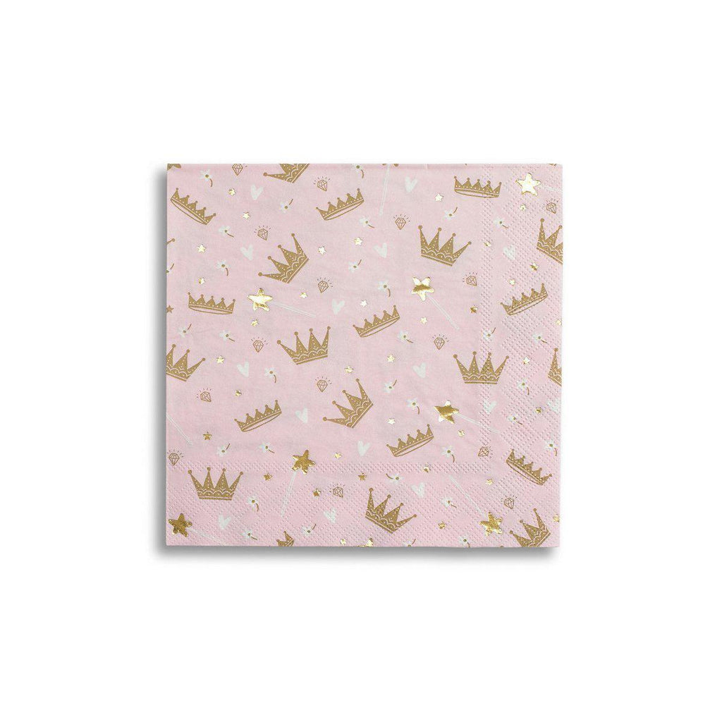 Sweet Princess Napkins-Palm & Pine Party Co.
