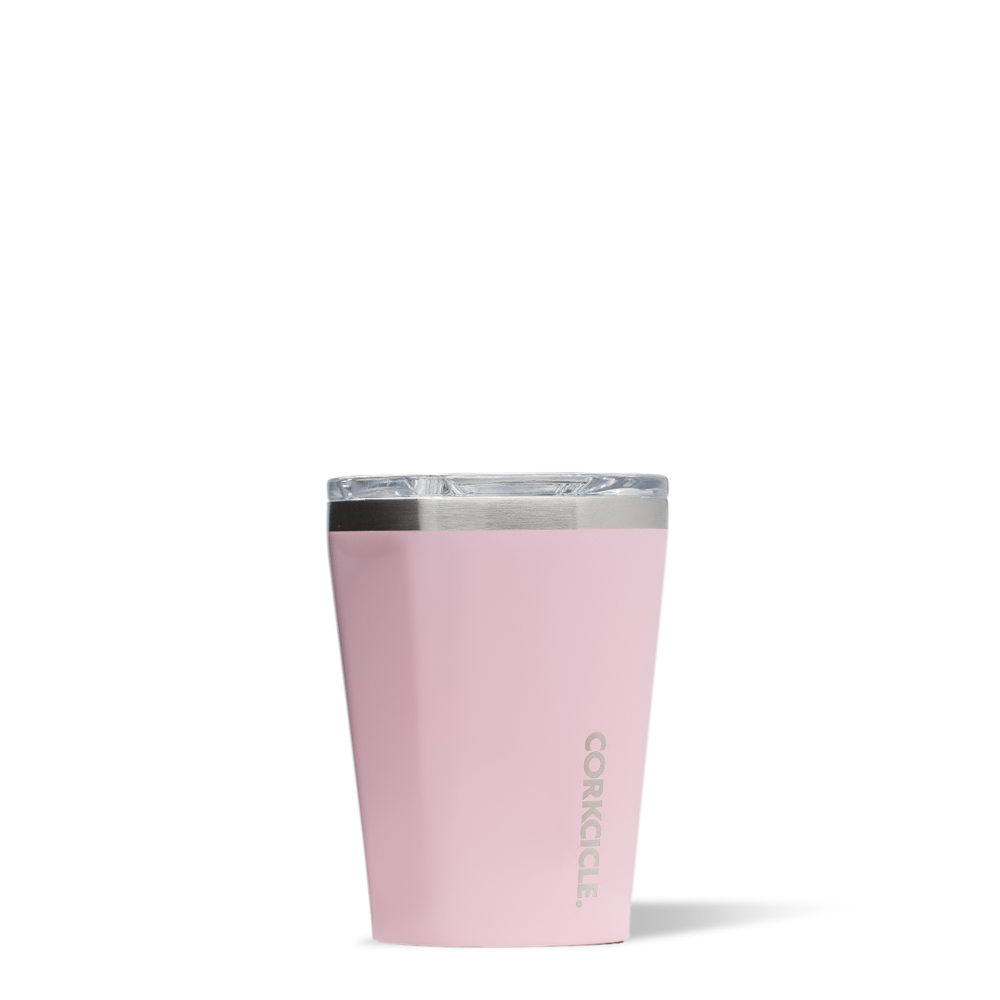 Corkcicle Tumbler 12oz (Rose Quartz)-Palm & Pine Party Co.