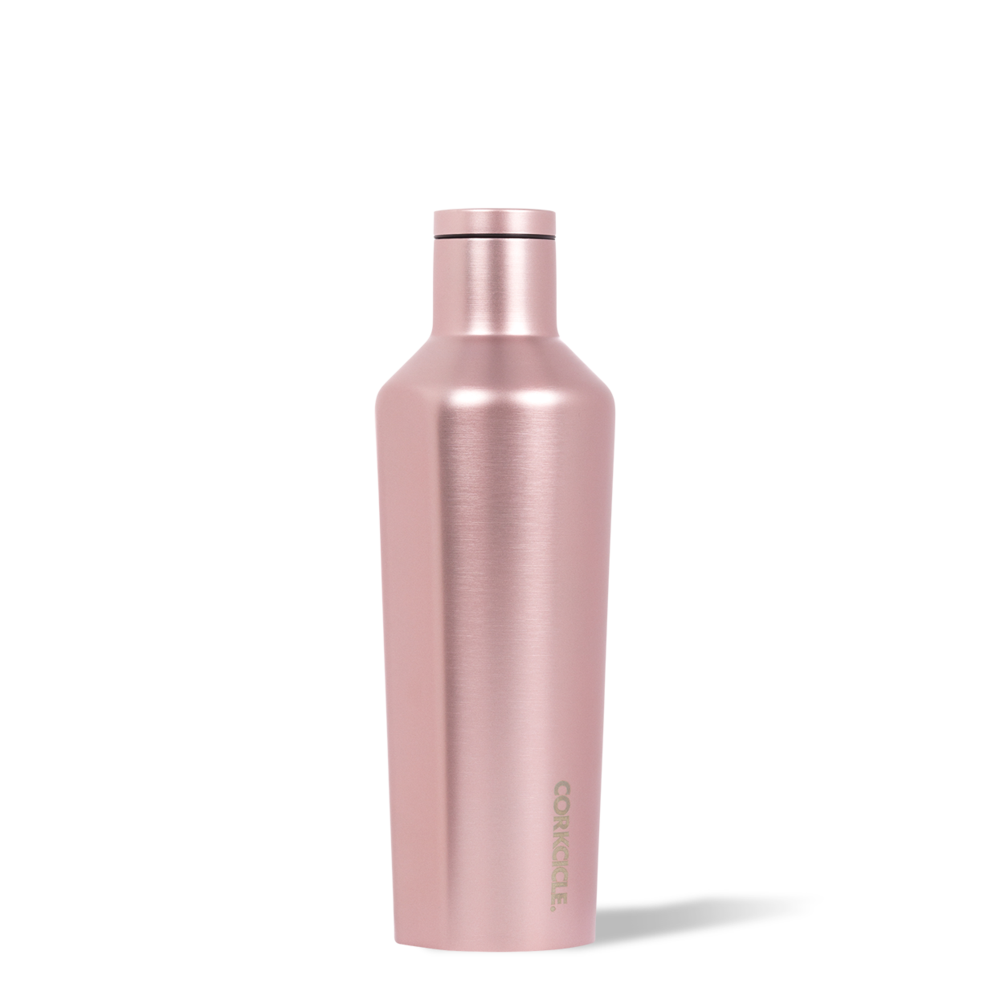 Corkcicle Canteen 16oz (Rose Metallic)-Palm & Pine Party Co.