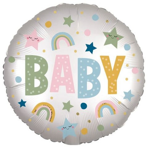 Baby Balloon, Inflated-Palm & Pine Party Co.
