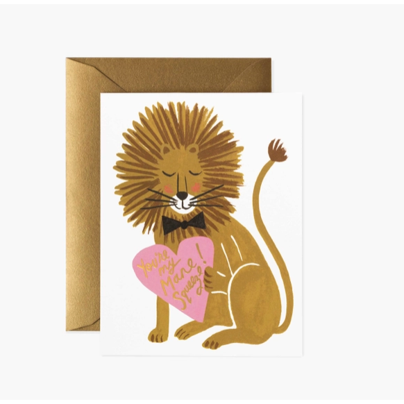 You're my Mane Squeeze Card-Palm & Pine