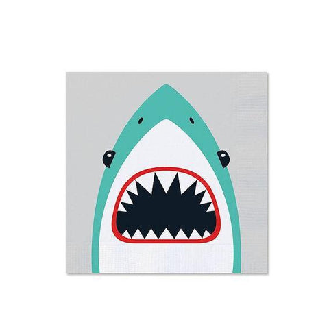 Shark Napkins-Palm & Pine Party Co.