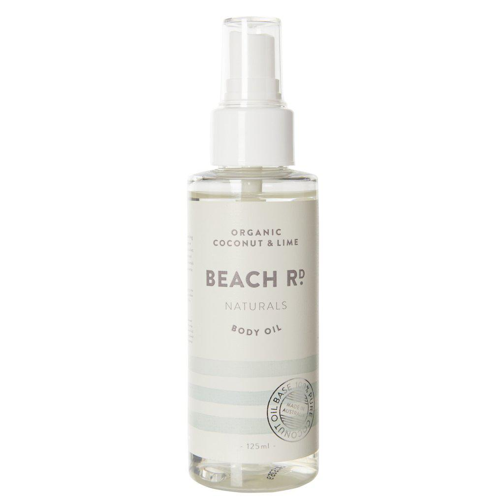 Organic Coconut & Lime Body Oil (125ml)-Palm & Pine Party Co.