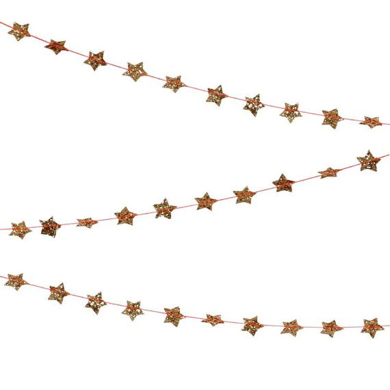 Mini Star Garland-Palm & Pine Party Co.