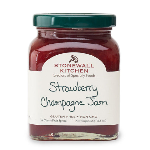 Strawberry Champagne Jam-Palm & Pine