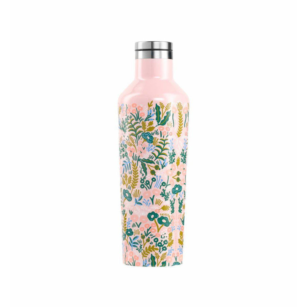 Corkcicle Canteen 16oz (Tapestry)-Palm & Pine