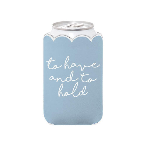 To Have and To Hold Can Cooler-Palm & Pine Party Co.
