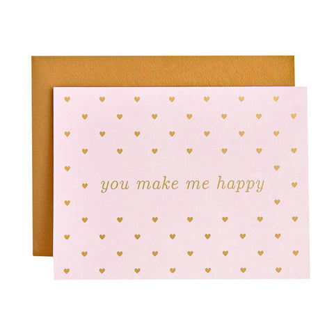 You Make Me Happy Card-Palm & Pine Party Co.