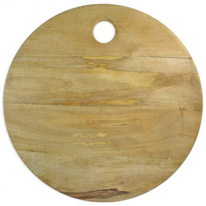 Round Mango Wood Board-Palm & Pine