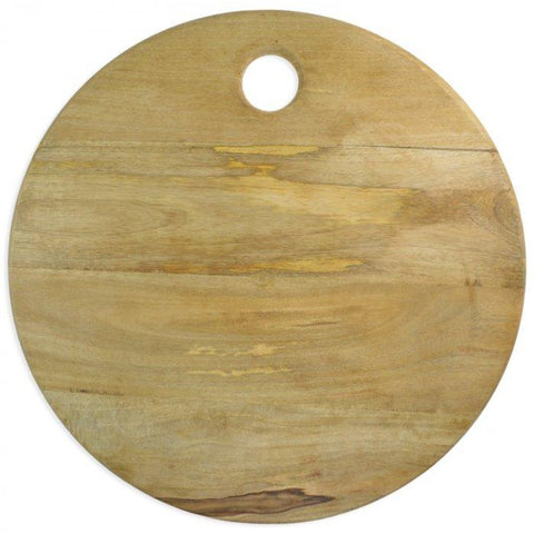 Round Mango Wood Board-Palm & Pine Party Co.
