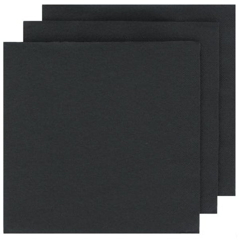 Black Cocktail Napkins-Palm & Pine Party Co.