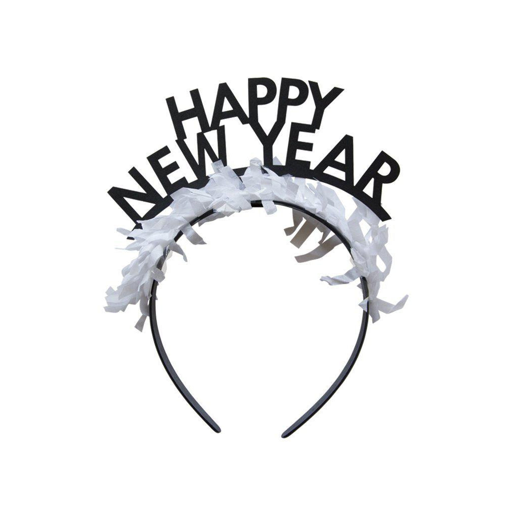 Happy New Year Headband-Palm & Pine